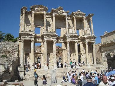 Kusadasi ephesus turkey allthingscruise - Ephesus turkey cruise port ...