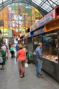 Mercado de Atarazanas, Malaga, Spain.