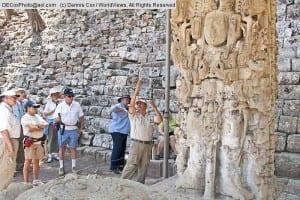 Mayan ruins in Copan Honduras
