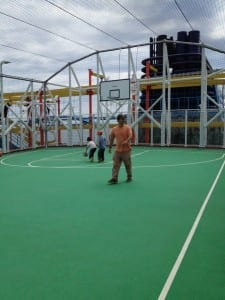 Norwegian Breakaway basketball at sea