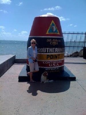 Pam and Reggie in Key West