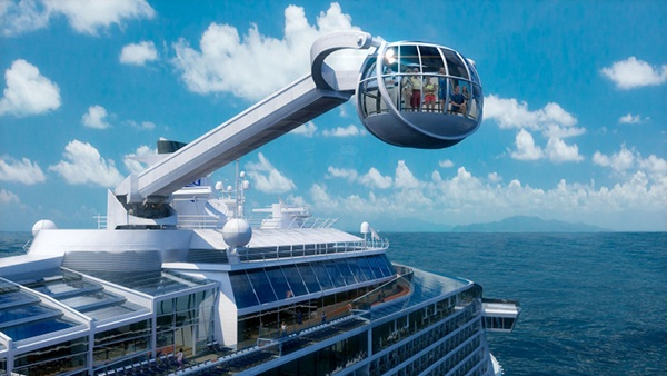 Quantum of the Seas North Star- Image courtesy of Royal Carribean
