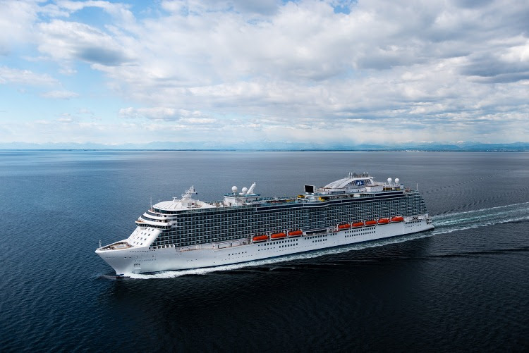 Princess Cruises New Ship Regal Officially Joins The Fleet Photo
