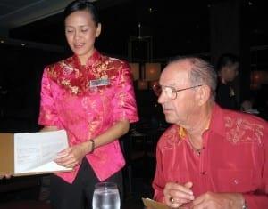 Dining at Silk Harvest