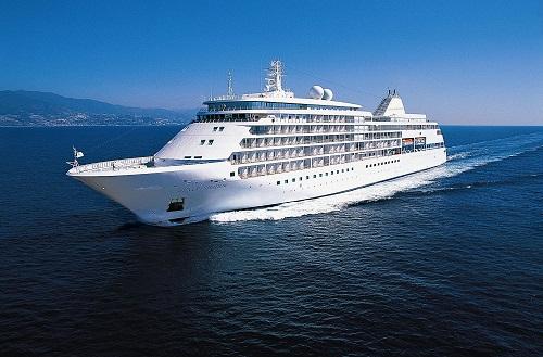 Silver Shadow- Image courtesy of Silversea Cruises