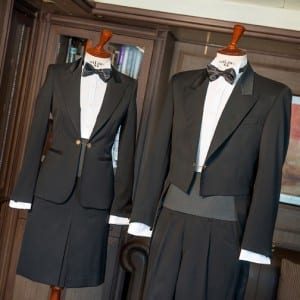 Silversea Butler Uniforms (Photo courtesy of Silversea Cruises)