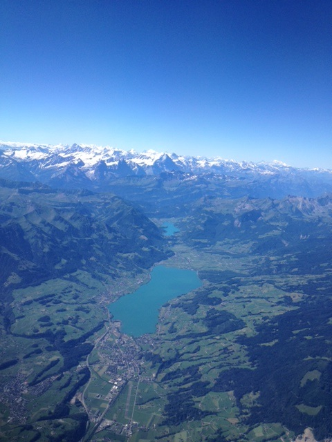 Switzerland from the air