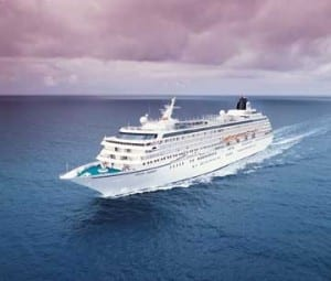 Crystal Cruises ship, the Crystal Syymphony, falls into the Ultra-Luxury category. Image courtesy of Crystal Cruises.