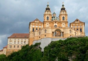 The Benedictine Monastery at Melk, Austria