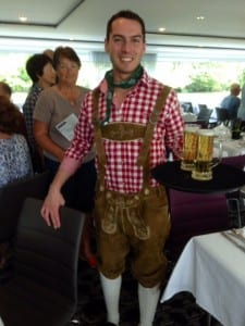 Today is Bavarian day aboard the Scenic Jade