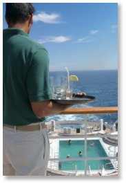Cruise Ship Waiter