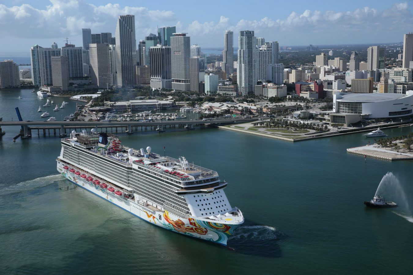 Norwegian 39 s new getaway has arrived in miami and will for Weekend getaways from miami