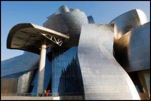 Bilbao's Guggenheim Museum Photo courtesy of Crystal Cruises