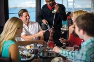 Starting today, guests can reserve specialty dining venues 90 days prior to sailing; guests on select ships can also book entertainment, spa reservations (Photo courtesy of Norwegian Cruise LIne)