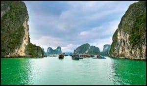 Vietnam's Ha Long Bay, courtesy of Paragon Pixels (Photo courtesy of Crystal Cruises)