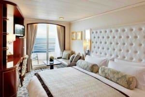 The new Deluxe PURE Staterooms. (photo courtesy of Crystal Cruises)