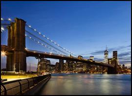 The Brooklyn Bridge. (Photo courtesy of Crystal Cruises)
