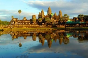 Cambodia's Angkor Wat (Photo courtesy of Crystal Cruises)