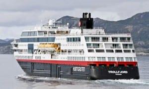Photo courtesy of Hurtigruten