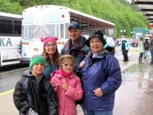 Alaska cruise with family