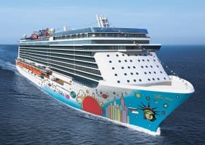 Norwegian Cruise Line's Breakaway which will debut in April 2013
