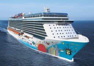 Norwegian Cruise Line's Breakaway which will debut in April 2013