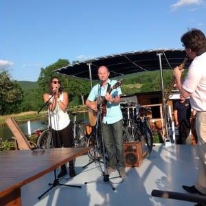 Concert on deck