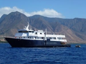 Safari Explorer in Hawaii (photo courtesy of Un-Cruise Adventures)