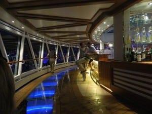 The Seaview Bar at sail-away
