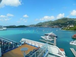 Docked at St. Thomas