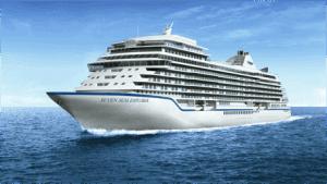 Rendering of Regent Seven Seas Cruises' new ship, Seven Seas Explorer (Photo courtesy of Regent Seven Seas Cruises)