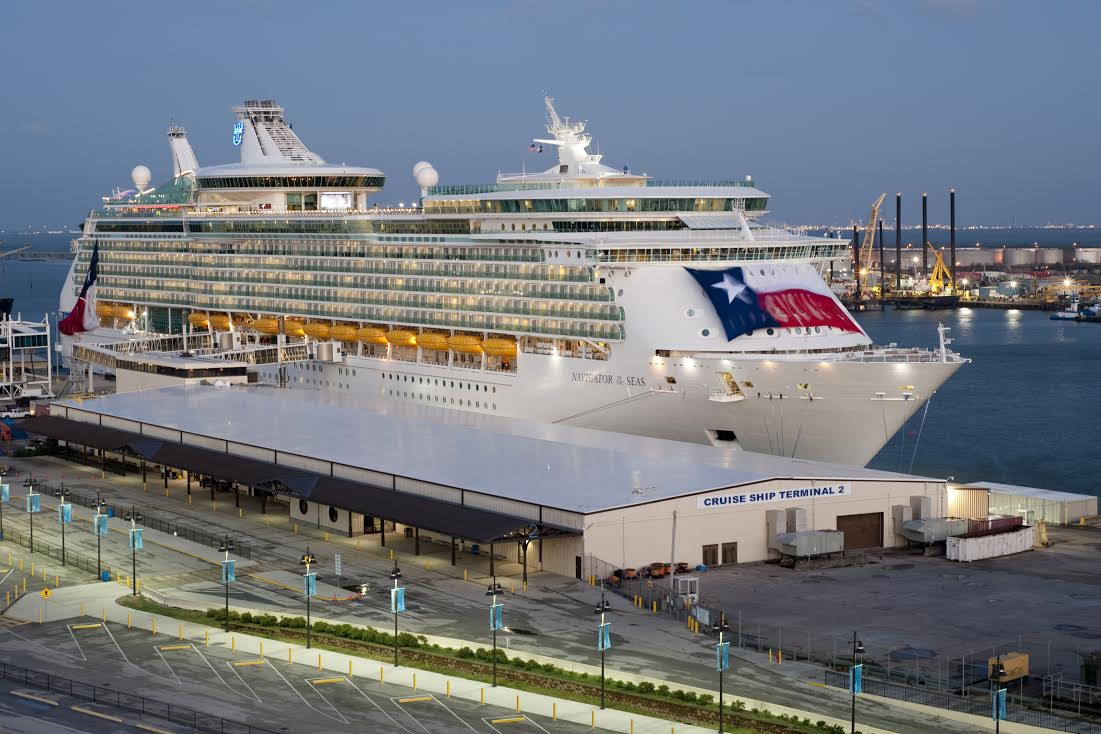 Navigator Of The Seas Is Largest Ship To Homeport In Galvelson - Cruises out of galveston 2015