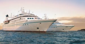 Star Legend and Star Breeze will join the Windstar fleet in May 2015. Photo courtesy of Windstar Cruises