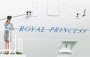 Princess Cruises celebrates the first birthday of Royal Princess, christened by Her Royal Highness The Duchess of Cambridge on June 13, 2013. (Photo courtesy of Princess Cruises)