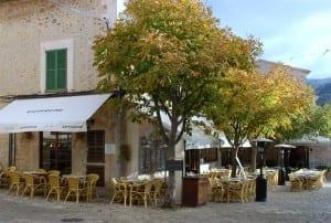 A cafe in Valldemosa