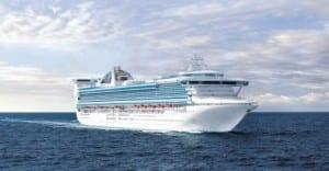 Golden Princess sets sail today from Los Angeles marking Princess Cruises' brand new short Getaway cruise season.  (Photo courtesy of Princess Cruises)