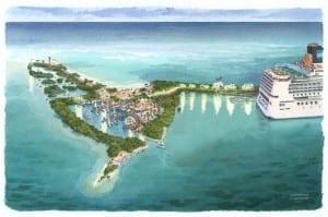 Artist representation of the proposed destination  (Courtesy of Norwegian Cruise Line)